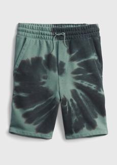 Gap Teen Tie-Dye Fleece Pull-On Shorts