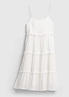 Gap Teen Tiered Midi Dress