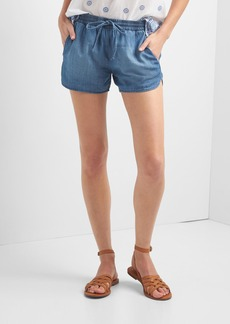 Gap TENCEL&#153 denim dolphin shorts