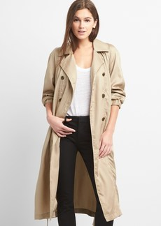 Gap TENCEL&#153 Drapey Trench Coat