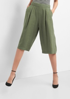 Gap TENCEL&#153 linen crop culottes