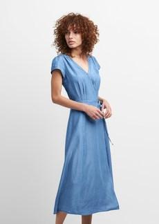 Gap TENCEL&#153 Short Sleeve Midi Dress