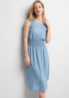 TENCEL&#153 smocked midi dress