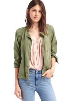 TENCEL&#153 drapey drawstring jacket