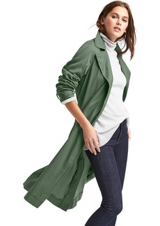 Gap TENCEL&#153 open-front trench