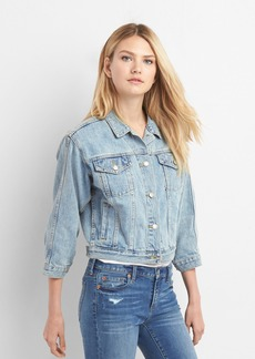 Gap The archive re-issue crop denim jacket