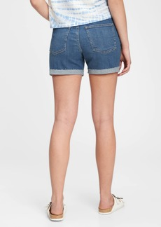 Gap The Gen Good Mid Rise Denim Shorts With Washwell&#153