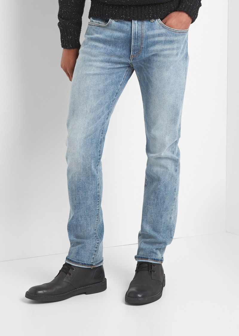 7aa416a8 SALE! Gap Thermolite® slim fit jeans with GapFlex