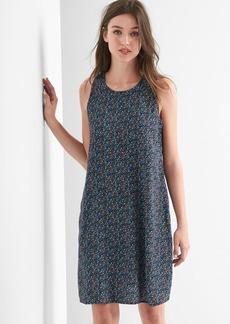 Tie-back tank swing dress