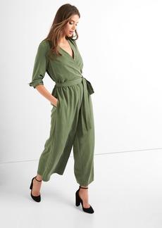 Gap Tie-belt culotte jumpsuit