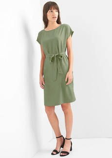 Gap Tie-belt shift dress