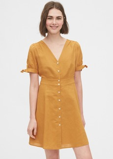Gap Tie-Sleeve Dress