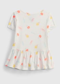 Gap Toddler 100% Organic Cotton Mix and Match Print Tunic Top