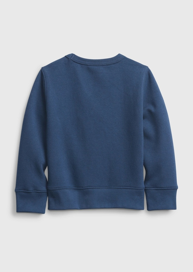 Gap Toddler 3D Crewneck Sweatshirt