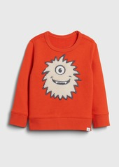 Gap Toddler 3D Monster Crewneck Sweatshirt