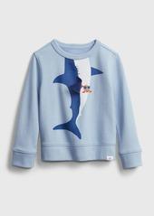 Gap Toddler 3D Shark Graphic Crewneck Sweatshirt