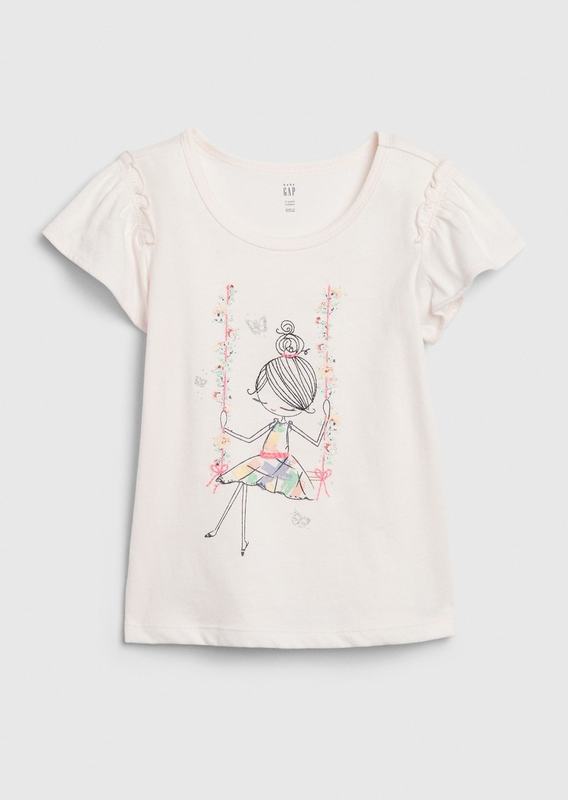 Gap Toddler Bea Flutter T-Shirt