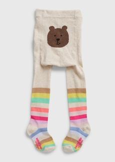 Gap Toddler Bear Happy Stripe Tights