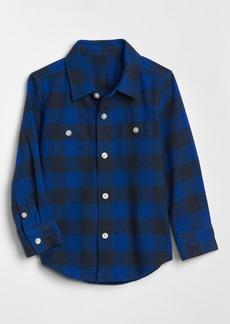 Gap Toddler Buffalo Plaid Long Sleeve Shirt