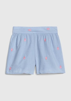 Gap Toddler Bunny Embroidery Shorts