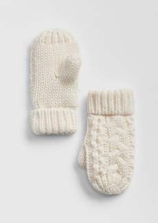 Gap Toddler Cable-Knit Mittens