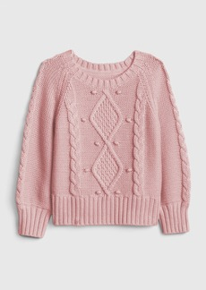 Gap Toddler Cable-Knit Sweater