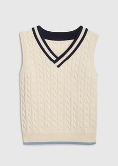 Gap Toddler Cable-Knit Vest