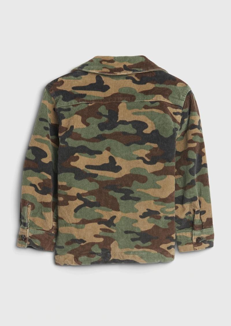 Gap Toddler Camo Cord Jacket