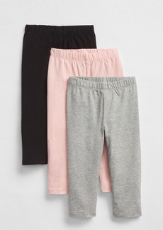 Gap Toddler Capri Leggings in Stretch Jersey (3-Pack)