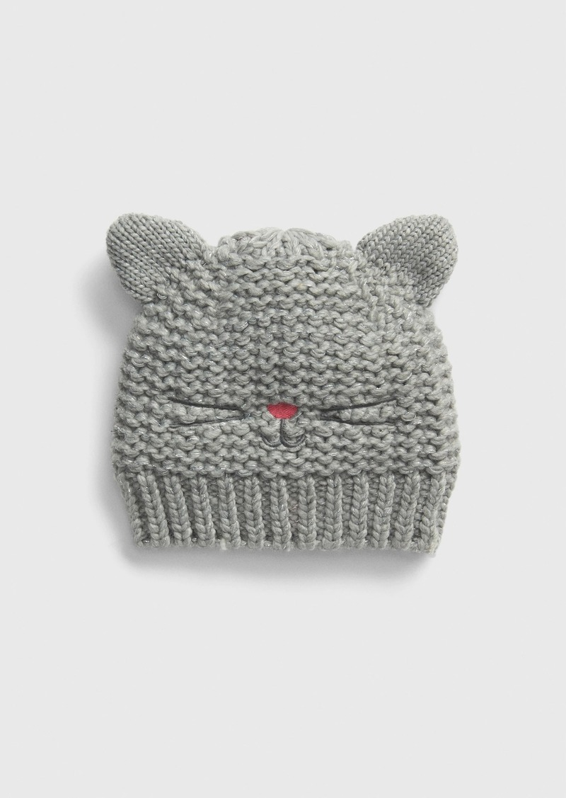 Gap Toddler Cat Garter Beanie