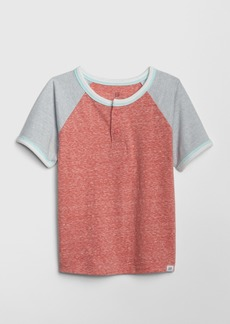 Gap Toddler Colorblock Henley T-Shirt