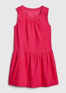 Gap Toddler Cord Sleeveless Dress