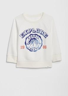 e200c0c86 Gap Toddler Crackle-Print Graphic Sweatshirt