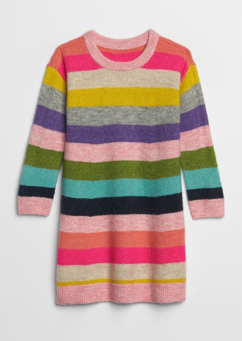 Gap Toddler Crazy Stripe Sweater Dress