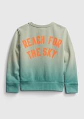 Gap Toddler Crewneck Dip-Dye Sweatshirt