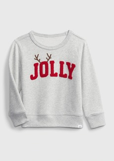 Gap Toddler Crewneck Graphic Sweater