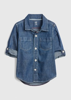 Gap Toddler Denim Convertible Shirt