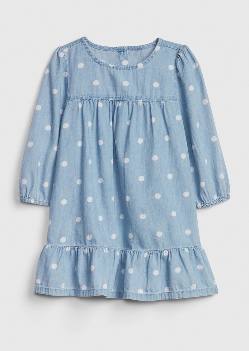 Gap Toddler Denim Dot Dress