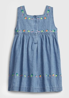Gap Toddler Denim Fruit Dress