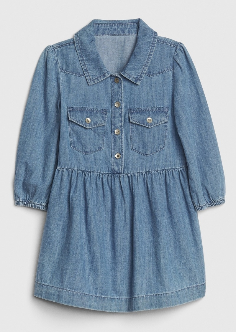 Gap Toddler Denim Western Dress