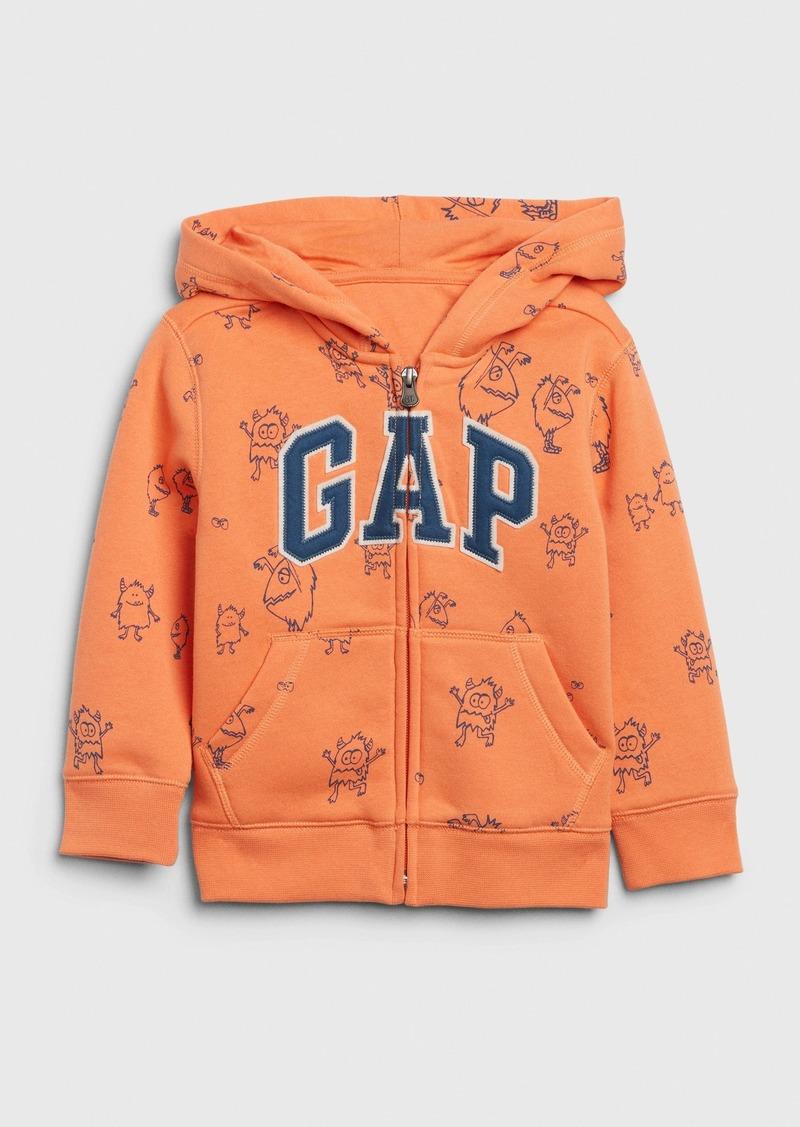 Toddler Dino Gap Logo Hoodie Sweatshirt