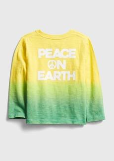 Gap Toddler Dip-Dye Graphic T-Shirt
