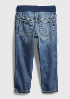 Gap Toddler Distressed Pull-On Slim Jeans
