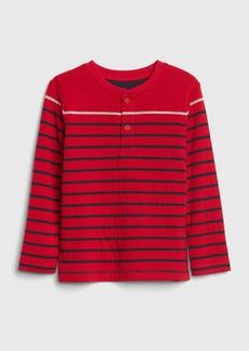Gap Toddler Double-Knit Henley T-Shirt