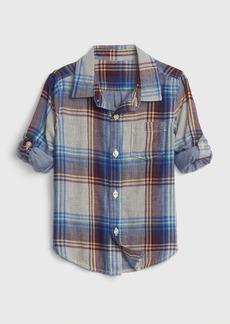 Gap Toddler Double-Weave Convertible Shirt