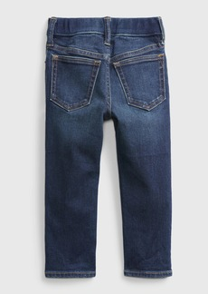 Gap Toddler Elasticized Pull-On Slim Taper Destructed Jeans with Stretch