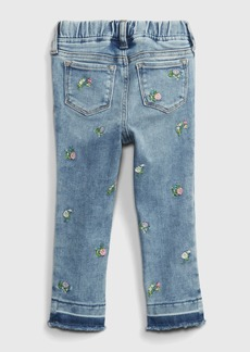 Gap Toddler Embroidered Floral Pull-On Jeggings with Washwell&#153
