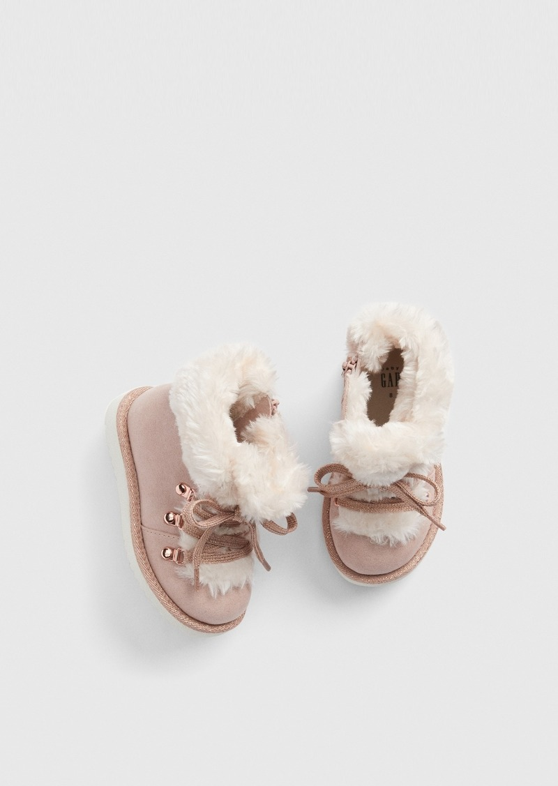 Gap Toddler Faux-Fur Boots