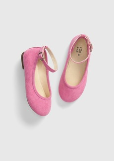 Gap Toddler Faux-Suede Ballet Flats