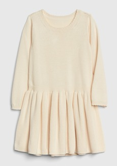 Gap Toddler Fit and Flare Sweater Dress